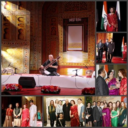 Колаж 4 - Концерт в Колизее Уттах Хана.Мандира-ведущая